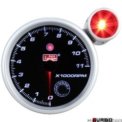 Auto Gauge Smoke - obrotomierz z shift light 127mm