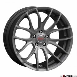 Breyton RACE GTS 8,5x18 5x120 Matt Gun Metal / Matt Black