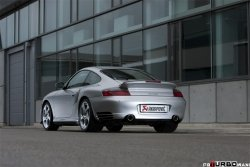 AKRAPOVIC Evolution Line (Titanium / 400 cpsi cats) Porsche 911 Turbo (996) 2000-2005