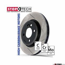 StopTech 126 Hi-Carbon Slotted tarcza hamulcowa BMW 126.34068SR