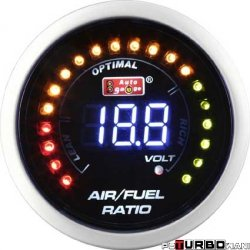 Auto Gauge LCD - AFR Air to Fuel Ratio