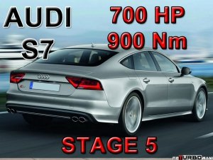Audi S7 STAGE 5 - 700 HP / 900 Nm PAKIET MOC