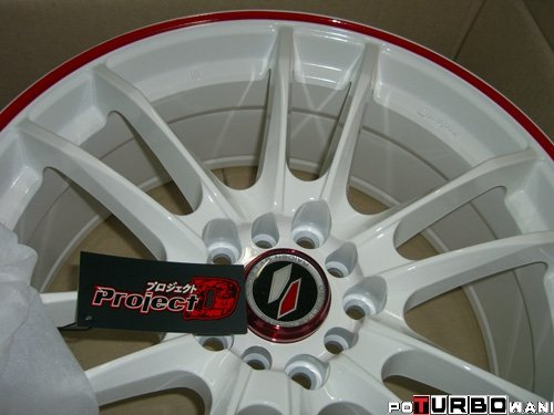 Raiden PD8 White/Red 8x18 ET 45 73