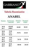 GABBIANO Hit Siwiec Kostium ANABEL Morela