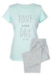 MuZZY Piżama HAVE 3/4 spodnie nadwymiar