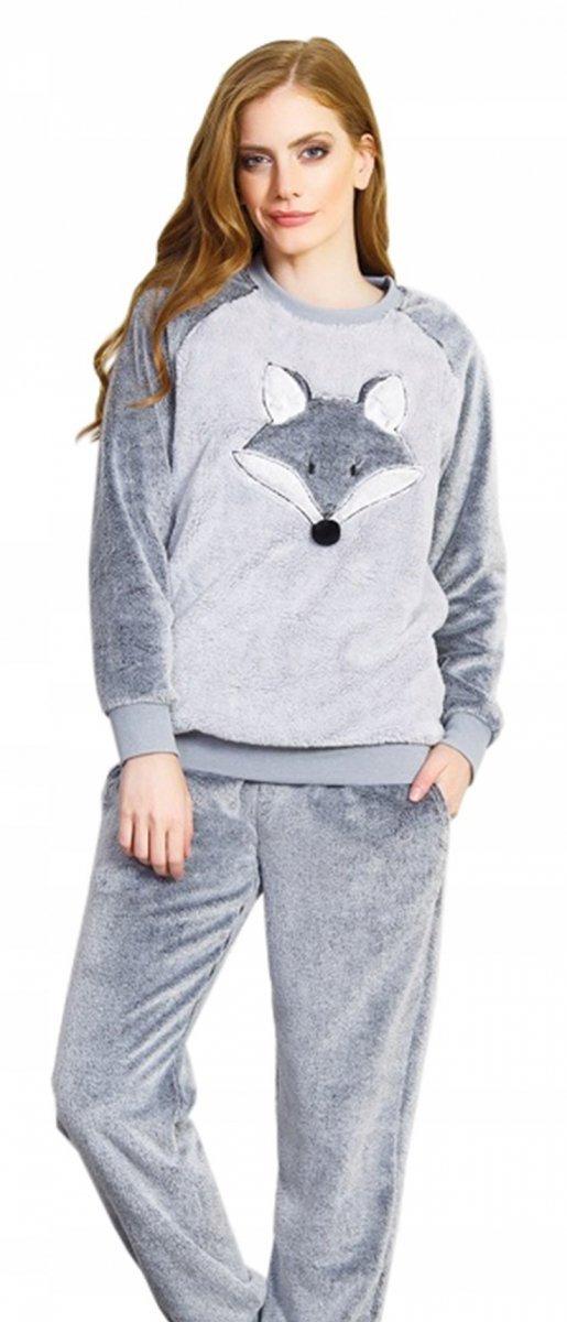 fc8856c1845fde Vienetta WILCZEK bardzo gruba piżama damska - Odzież, Obuwie ...