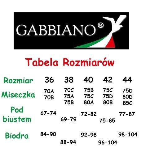GABBIANO DORA Sexy Push up Pomarańcz R: