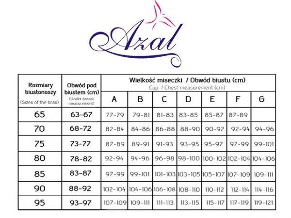AZAL Modelujący Biustonosz AZAL 107 CZARNY R: