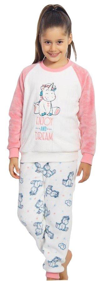 VIENETTA Piżama dziecięca z grubego polaru R: