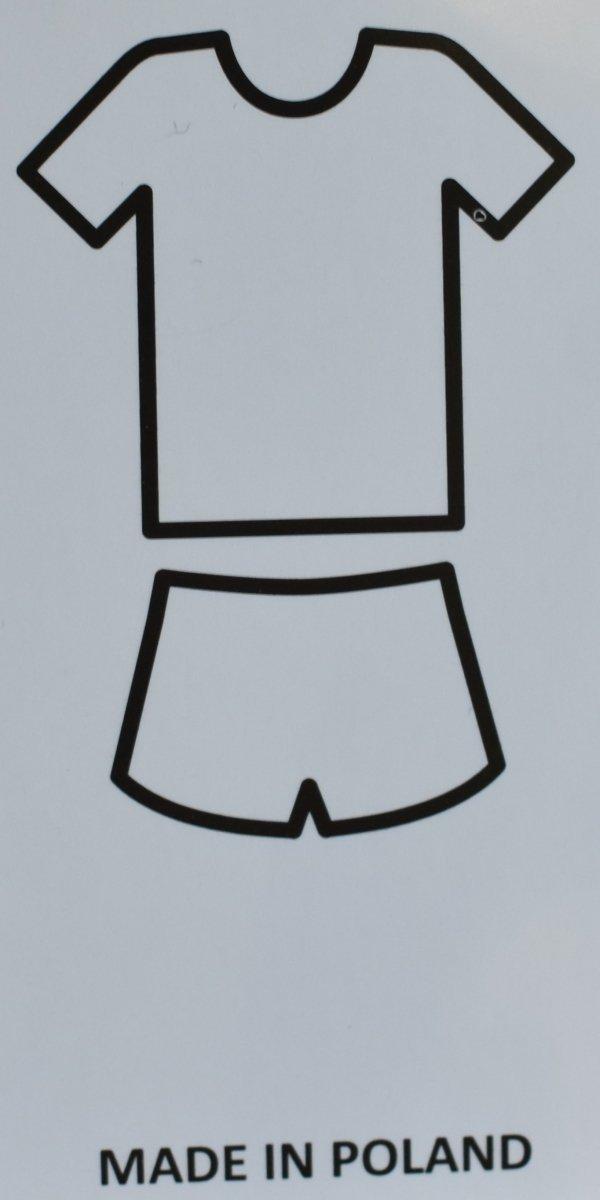 MUZZY Piżama krótkie spodenki Twenty gray R: