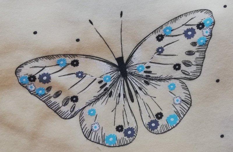 MUZZY Piżama damska Motyle R: