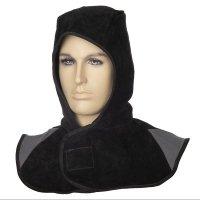 WELDAS- Czarny kaptur z dwoiny bydlęcej Arc Knight® 23-6630 XL