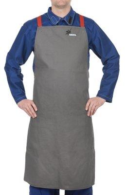 WELDAS-38-4336 Arc Knight® fartuch spawalniczy, wysokiej odporności trudnopalna bawełna 520 gr./m2 (91 cm/60cm) dł x szer