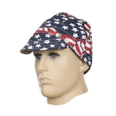 WELDAS-czapka spawalnicza USA FLAG (60) cm)