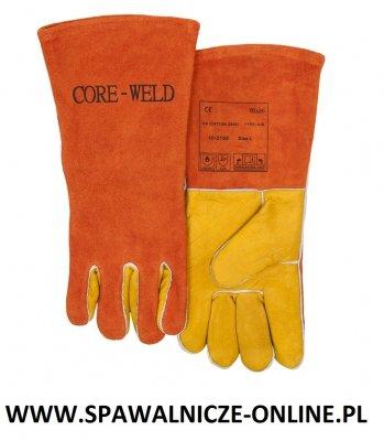 WELDAS-Rękawica spawalnicza z dłonią wykonaną z licowej skóry wołowej 10-2150 XL