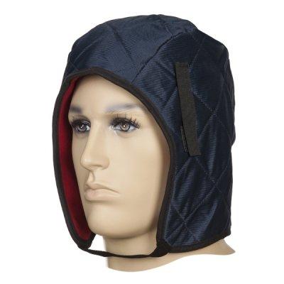 WELDAS-23-7702 Niebieska, bawełniana czapka pod kask na chłodną pogodę 23-7702