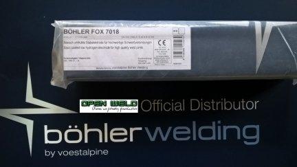 Elektroda BOHLER AWS 7018-1 3,2x350 (4,6 kg.)