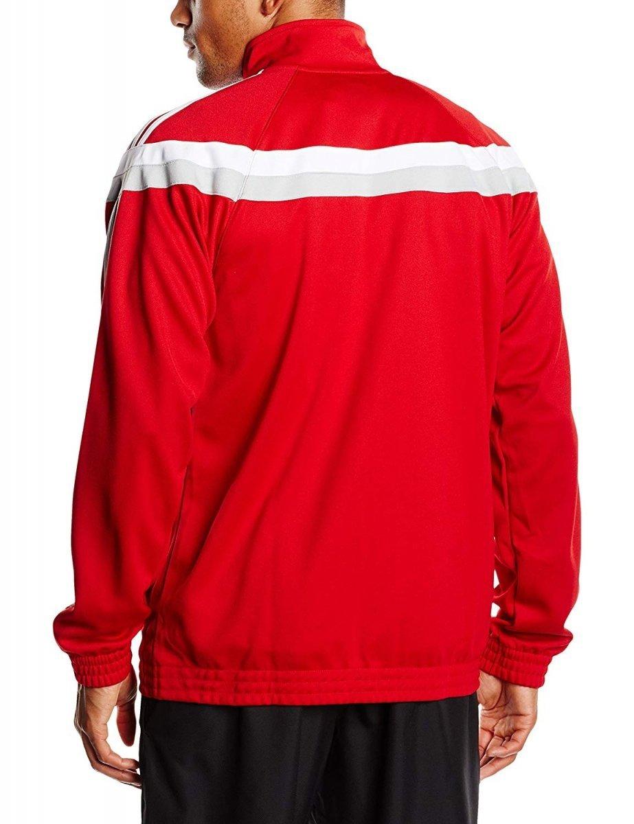 adidas bluza czerwona meska