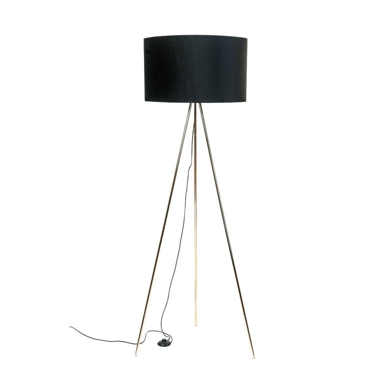 Lampa podłogowa INGA H06-GD-BK Zuma Line