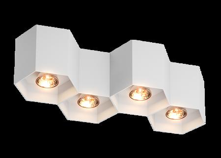 LAMPA WEWNĘTRZNA (SPOT) ZUMA LINE POLYGON CL 4 SPOT 20037-WH WHITE