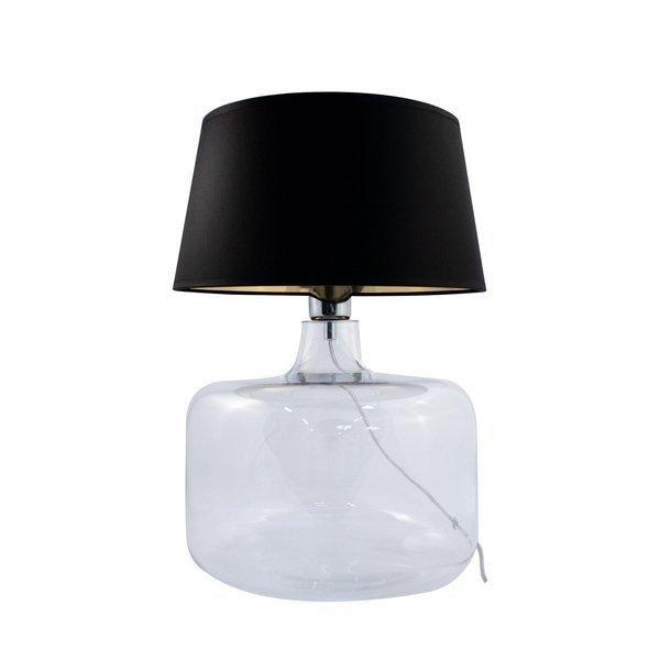 Lampa stołowa BATUMI TRANSPARENT 5529BKGO Zuma Line