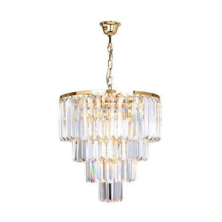 Lampa wisząca AMEDEO 17106/4+1-GLD Zuma Line