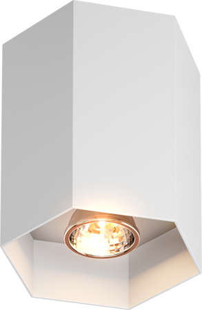 LAMPA SPOT ZUMA LINE POLYGON CL 1L SPOT 20067-WH --- DODAJ PRODUKT DO KOSZYKA I UZYSKAJ MEGA RABAT ----