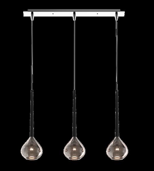 Lampa wisząca LIBRA 3 srebrna MD2128B-3S Zuma Line