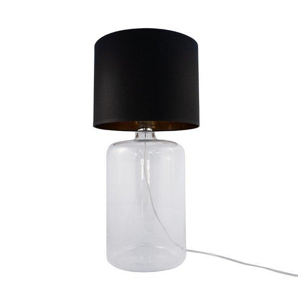 Lampa stołowa AMARSA TRANSPARENT 5508BKGO Zuma Line