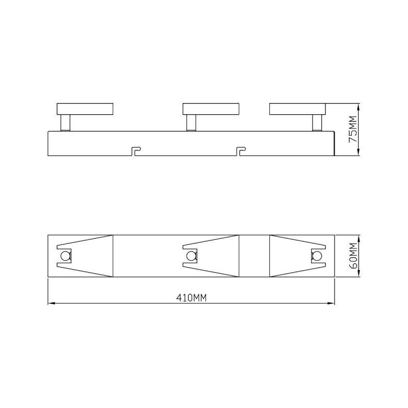 Lampa sufitowa SPAZIO CK99603A-3 Zuma Line --- DODAJ PRODUKT DO KOSZYKA I UZYSKAJ MEGA RABAT ----
