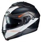 HJC IS-MAX II Kask Motocyklowy MAGMA BLACK/WHITE/RED