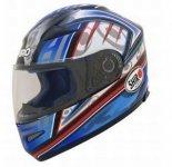 Shiro SH-5500 Azhor kask motocyklowy niebiesko-czarny