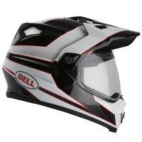 Bell MX9 ADVENTURE kask motocyklowy z daszkiem Dual Touring (malowanie Stryker) r. M