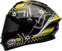 BELL STAR KASK MOTOCYKLOWY DLX MIPS ISLE OF MAN BLACK/YELLOW