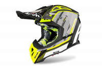 KASK AIROH AVIATOR 2.3 AMS2 GLOW CHROME YELLOW