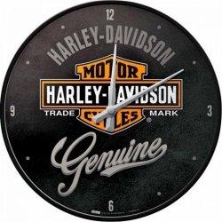 HARLEY DAVIDSON Zegar ścienny okrągły vintage