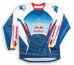 Koszulka MX cross Kini Red Bull Competition Navy/White