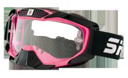 Gogle Shiro MX-902 gogle motocyklowe enduro różowe
