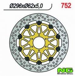 NG Tarcza hamulcowa przednia INDIAN Roadmsater 1800 (15-16) 296x62x5,0