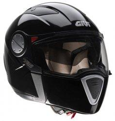 GIVI Kask motocyklowy HX01W zimowy czarny połysk