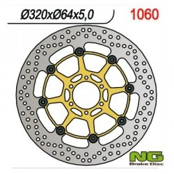 Tarcza hamulcowa przednia Aprilia PEGASO 650 STRADA 05-06