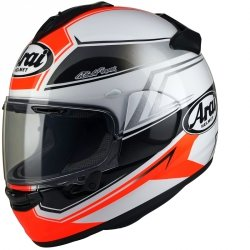 Arai Chaser-X Shaped Red L