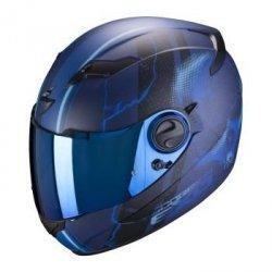 SCORPION KASK MOTOCYKLOWY EXO-490 DAR MATT BLUE