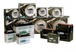Kymco MXV 250 04-09 akumulator Landport