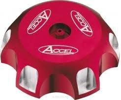 Accel korek wlewu paliwa - Honda CRF 250X (04-10) - czerwony