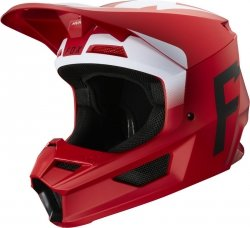 FOX V-1 KASK WERD FLAME RED