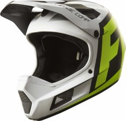 KASK ROWEROWY FOX RAMPAGE COMP CREO WHITE/YELLOW XL