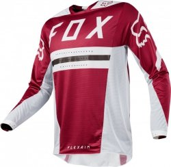 BLUZA FOX FLEXAIR PREEST DARK RED L