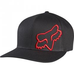 CZAPKA Z DASZKIEM FOX FLEX 45 BLACK/RED XS/S