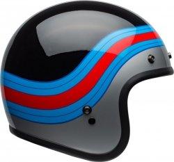 KASK BELL CUSTOM 500 DLX PULSE BLACK/BLUE/RED